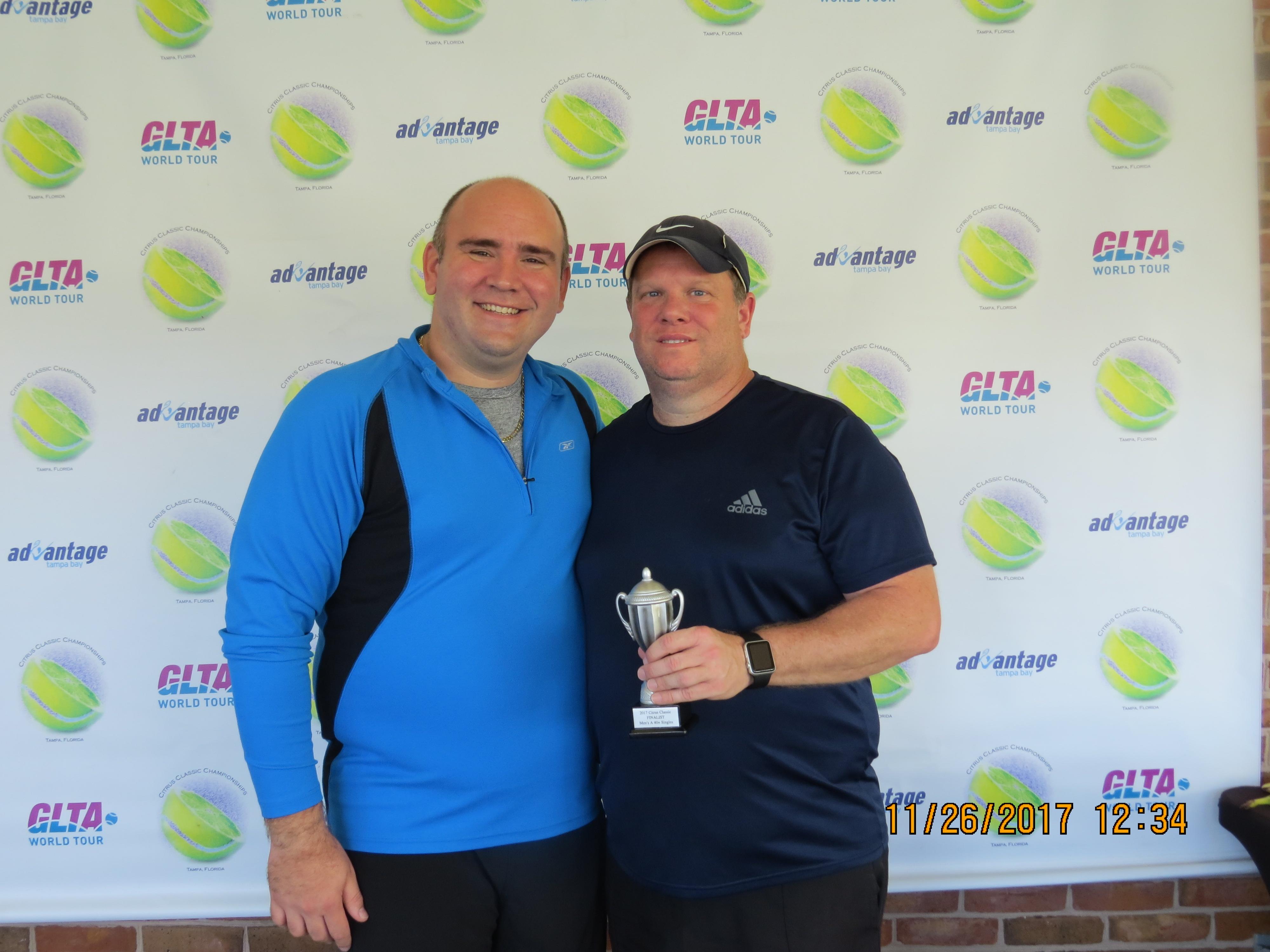 Advantage Tampa Bay Tennis, Inc  - Tournament Play